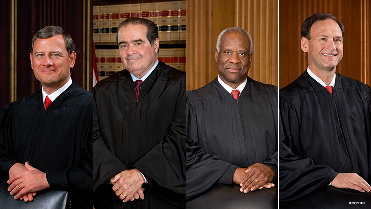 conservative Supreme Court justices in 2015