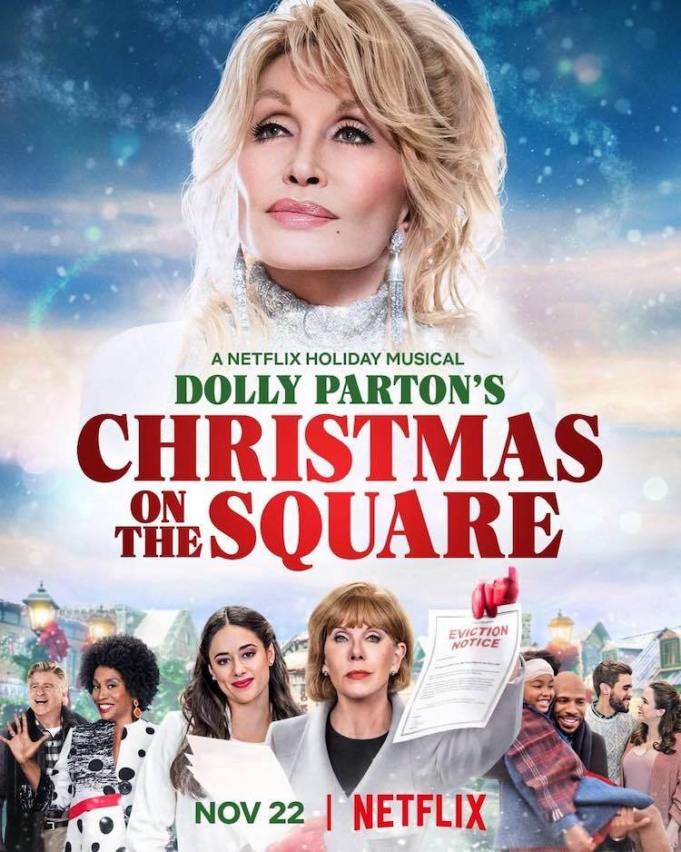 Christmas on the Square poster
