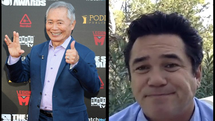 George Takei and Dean Cain