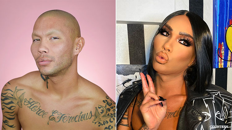 Kimora Black, before and after