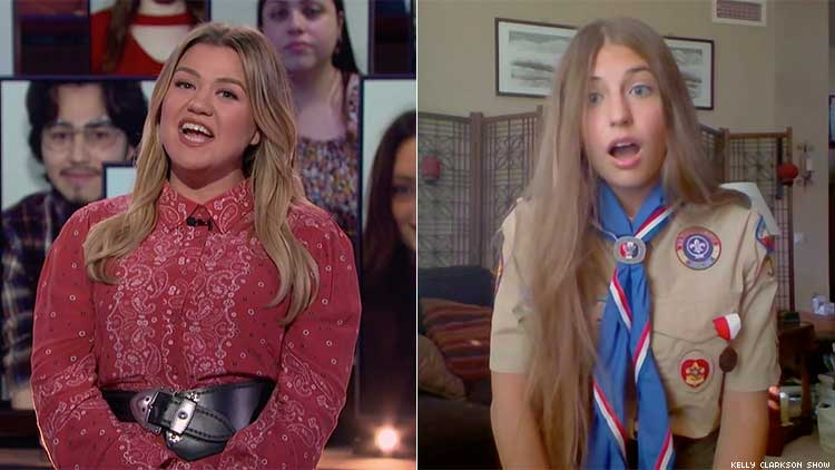 Kelly Clarkson and Victoria Rader