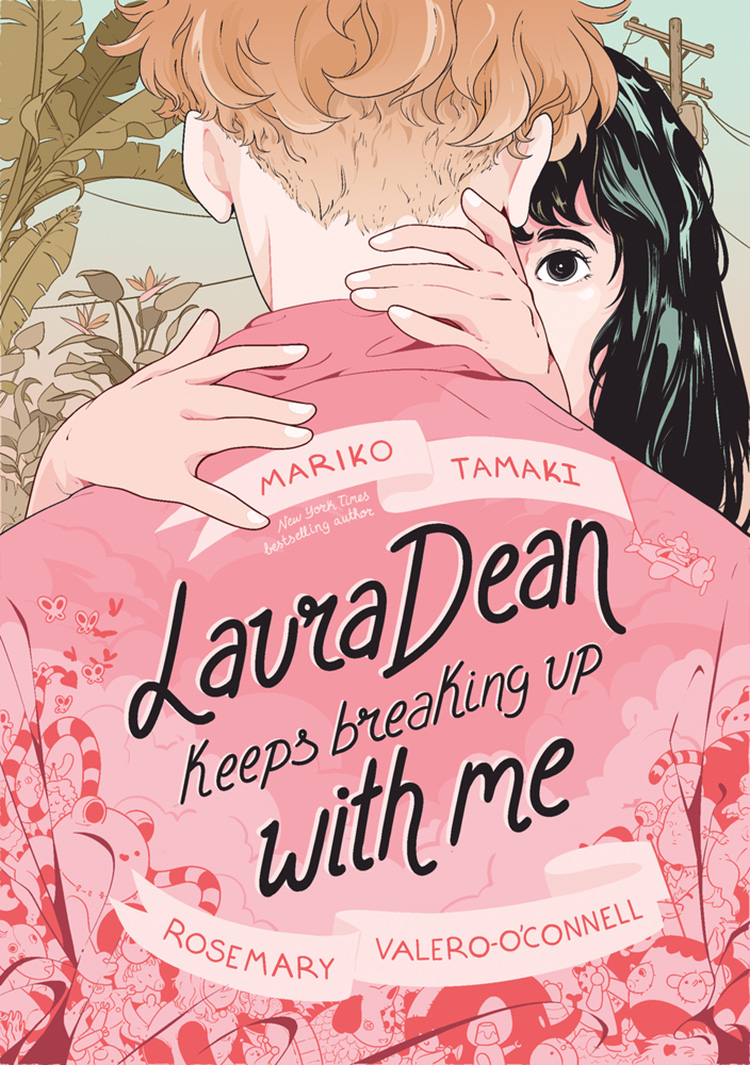 Cover of Laura Dean Keeps Breaking up With Me graphic novel