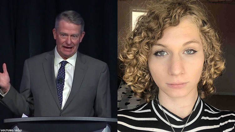 Lindsay Hecox files suit against Idaho law signed by Gov. Brad Little banning transgender athletes in public schools sports