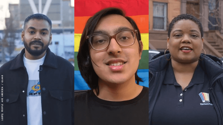 LGBTQ American featured in GLAAD's video