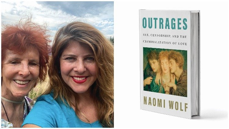 Naomi Wolf talks to The Advocate's Jacob Anderson-Minshall about her new book, 'Outrages, Sex, Censorship, and the Criminalization of Love.'