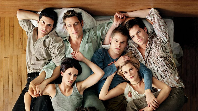 Queer as Folk American cast, courtesy Showtime