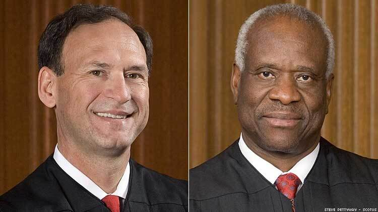Supreme Court Justices Thomas and Alito Suggest 2015 Same-Sex Marriage Decision Should be Reconsidered