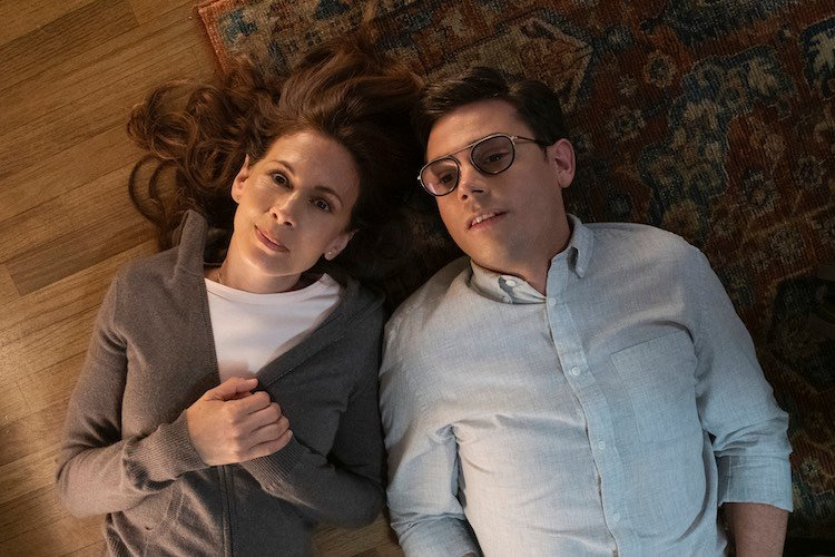 Jessica Hecht and Ryan O'Connell