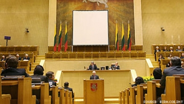 Antigay Lithuanian Law Amended