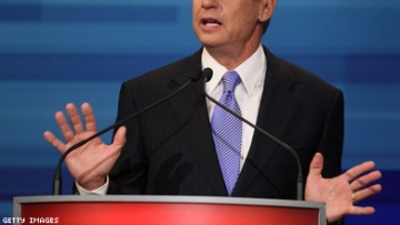 Gary Johnson Condemns Booing GOP Front-runners Are Silent