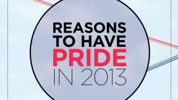 Reasons For Pride 2013
