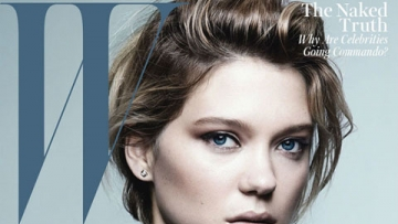 Blue is the Warmest Color's Léa Seydoux Rocks Tough and Sexy for W Mag