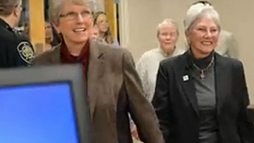 WATCH: Same-Sex Marriage Applications Accepted in N.C.