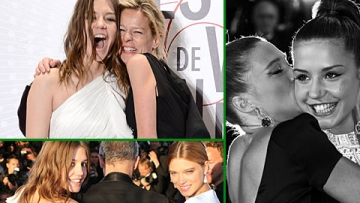 11 Examples of Blue is the Warmest Color's Léa Seydoux and Adèle Exarchopoulos Being Adorable in Real Life