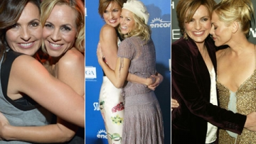 8 Examples of Newly Out Maria Bello and Mariska Hargitay Being the Most Adorable Friends