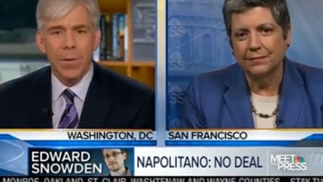 WATCH: Janet Napolitano 'Evolves' on Marriage Equality