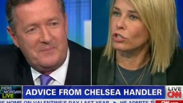 WATCH: Chelsea Handler Skewers Piers Morgan as a 'Terrible Interviewer'