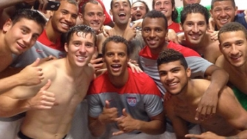 World Cup: In The Locker Room