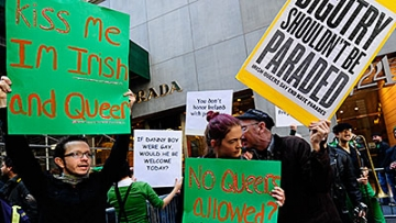 New York's St. Pat's Inches Toward Inclusion