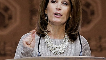 Bachmann Backtracks Claim That Marriage Equality's 'Not an Issue'