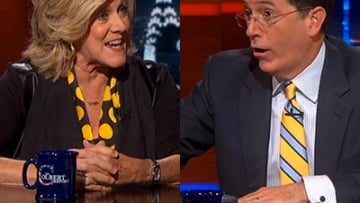 WATCH: Stephen Colbert Asks Biographer, Did Space Travel Make Sally Ride Gay?