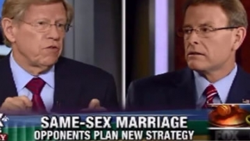 WATCH: Ted Olson Takes on Tony Perkins on 'Evil' Marriage Equality
