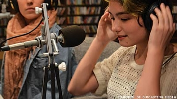 Young, Queer, On the Air