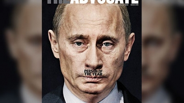 The Advocate's Person of the Year: Vladimir Putin