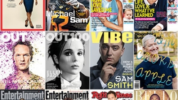 The LGBT Faces of This Year's Magazines