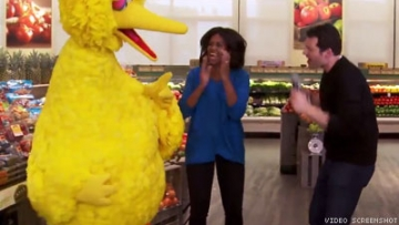 WATCH: Michelle Obama Gets Wacky on 'Billy on the Street'