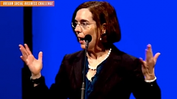 Kate Brown, First Openly LGBT Governor, Assumes Office With Pointed Inauguration Speech