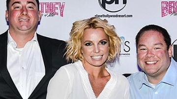 That Time Britney Spears Toasted These Gay Newlyweds
