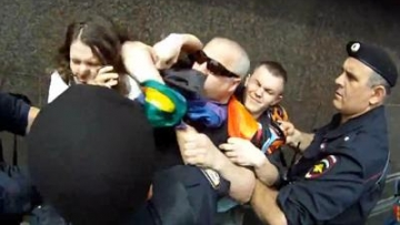 Russians Detain LGBT Activists At 'Unauthorized' Pride Rally