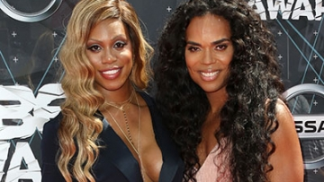 Laverne Cox and B. Scott Owned the BET Awards Red Carpet