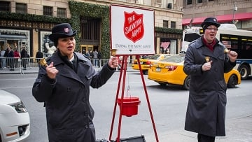 Salvation Army Insists It's On Our Side.