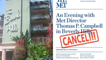An Open letter: Why the Met Should Boycott the Anti-LGBT-Owned Beverly Hills Hotel