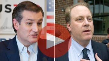 Ted Cruz and Curt Shilling
