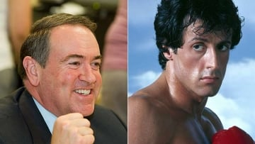 """Mike Huckabee Fined $25K for Playing """"Eye of the Tiger"""""""