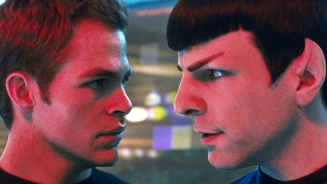 Kirk and Spock