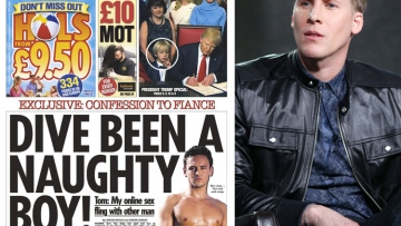 Dustin Lance Black and Tom Daley Cover Story