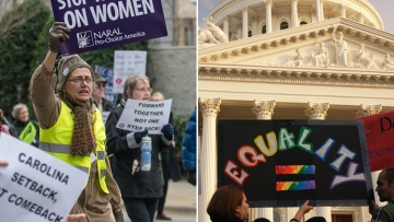 Trump's Different Methods for Undoing Abortion Rights, Marriage Equality