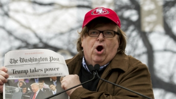 Michael Moore: Trump's Presidency 'Ends' After Release of Fahrenheit 11/9