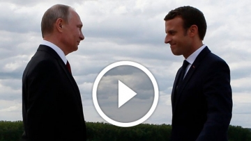 Emmanuel Macron Urges Putin to Protect Gay Men in Chechnya