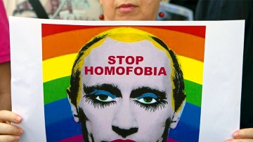 When It Comes to LGBT Rights, Trump's America Turn Its Eyes to Russia