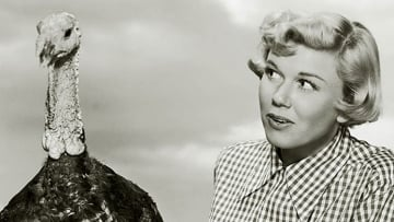 Doris Day and friend
