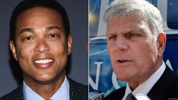 Don Lemon and Franklin Graham