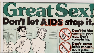 Safer Sex Imagery In The Time of AIDS