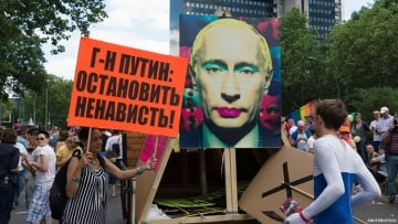 Most Russians Believe Gays Conspiring Against Country, Poll Finds