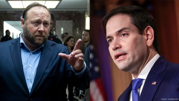 Alex Jones to Marco Rubio: 'Go Back to Your Bathhouse'