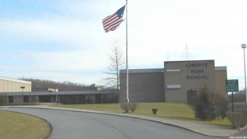 Liberty High School in West Virginia